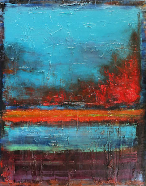 Abstract paintings by Michael Orwick available as originals or canvas reproductions
