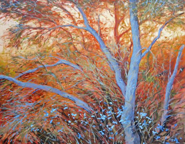Iridescent blues, Palm Springs By Landscape artist Michael Orwick