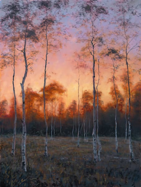 A Place of Sanctity, Artist: Michael Orwick - Grand Tetons National Park Landscape Painting