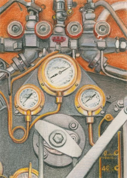 Pipes and Gauges - Original
