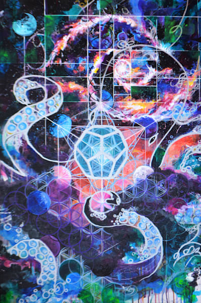 Octopus Queen Illuminating the Geometry of the Universe