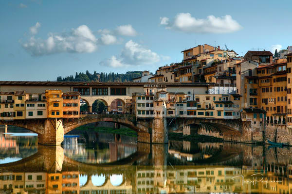Ponte Vecchio Reflection - Florence, Italy