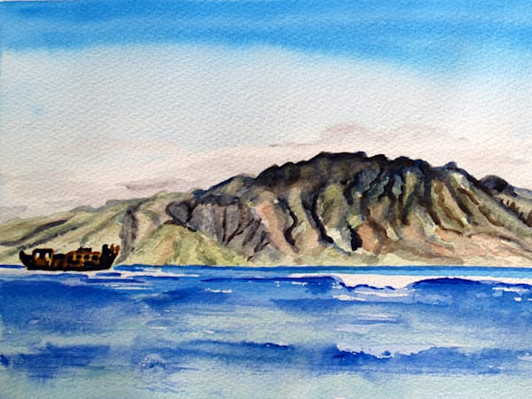 Molokai Watercolor Art for Sale