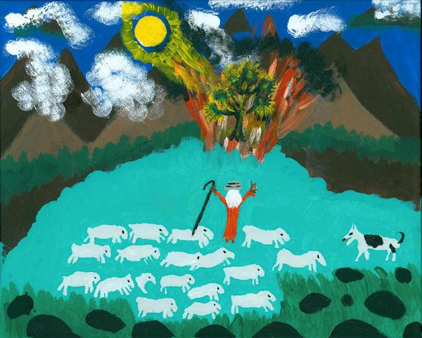 Burning Bush - Exodus 3: 1-5