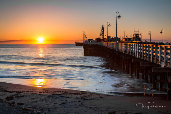 Santa Cruz Wharf at Sunrise