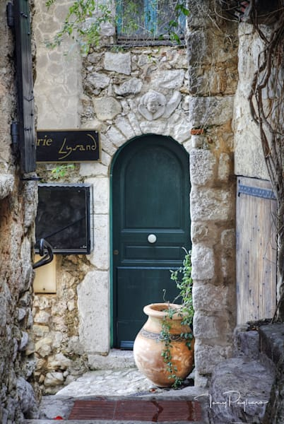 Village Doorway   Eze, France Art | Tony Pagliaro Gallery