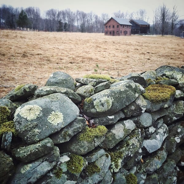Catskill Stone Wall photograph - for sale as fine art prints