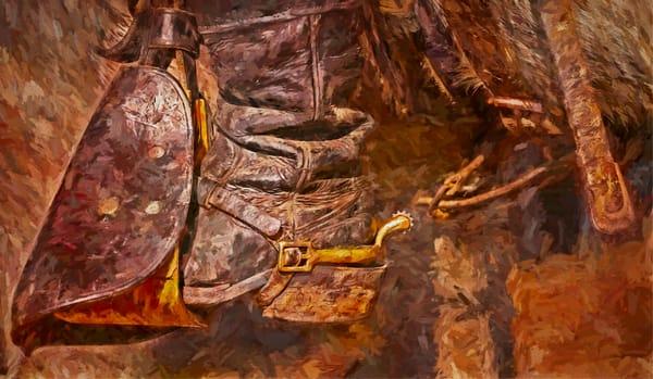 Civil War Reenactment Cavalry Painting Realistic Historic fleblanc