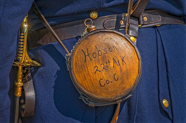 Civil War Reenactors Canteen Americana Realistic Historic fleblanc