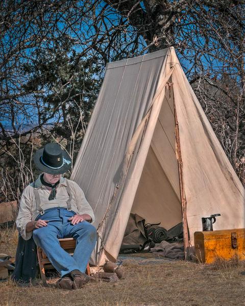 Civil War Encampment Reenact Lincoln Realistic Historic fleblanc
