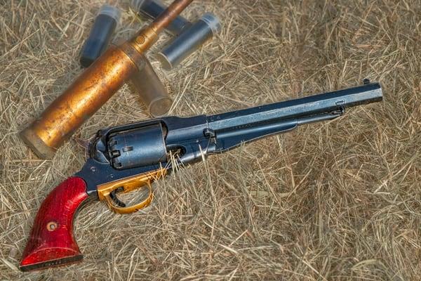 Civil War Handgun 44 Cal Black Powder Realistic Historic fleblanc