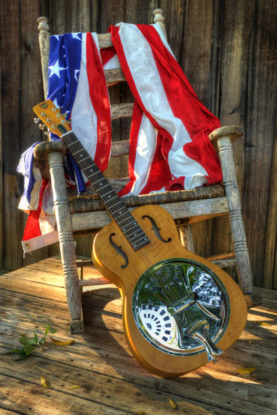 All American Dobro Art | Instrumental Art