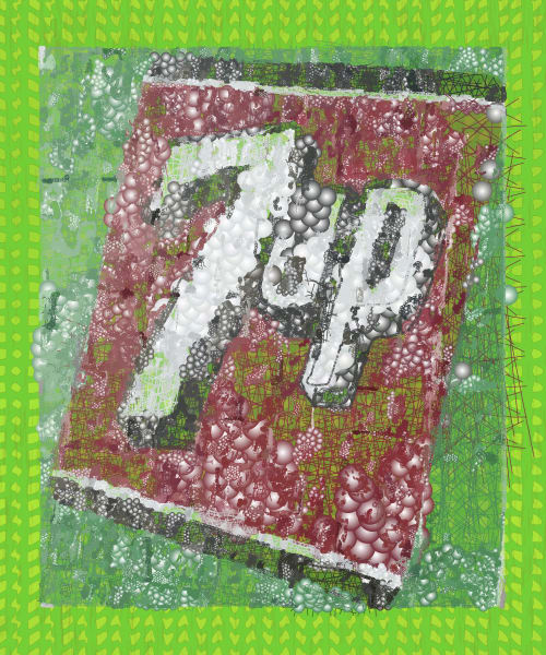 7up soda pop art , Pop Art by Peter McClard at BrillianceGallery.com.