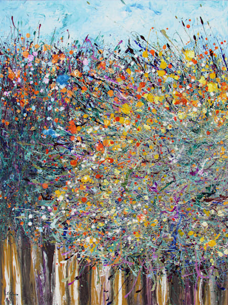 Original Art l Desert Wildflowers #20 l En Chuen Soo
