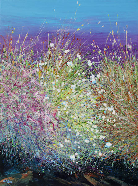 Desert Wildflowers #24 l Canvas Print