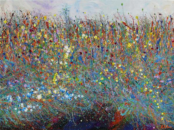 Canvas Print l Desert Wildflowers #18 l En Chuen Soo