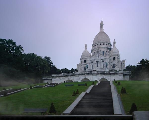 Basilique du Sacre Coeur à l'Heure Bleue