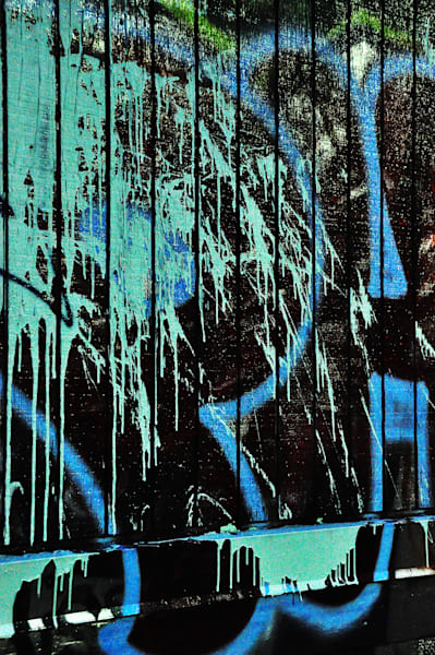 Graffiti III (Blue Hues)