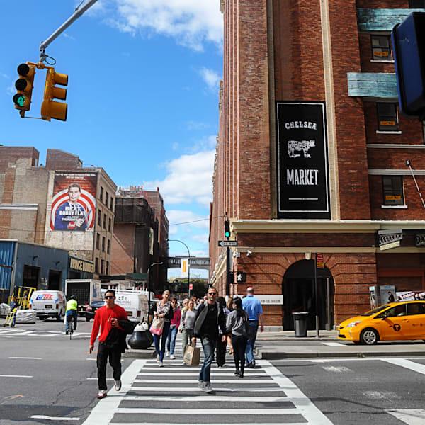 Chelsea Market NYC (color)