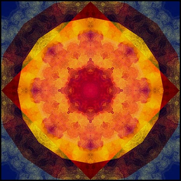 Geometric XXVII (Mandala)