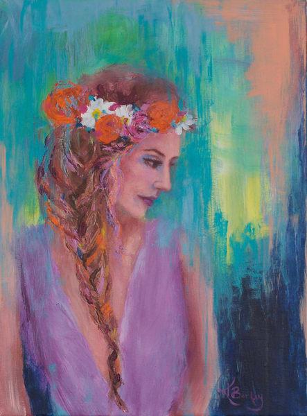 Crowned Artwork by Kelly Berkey