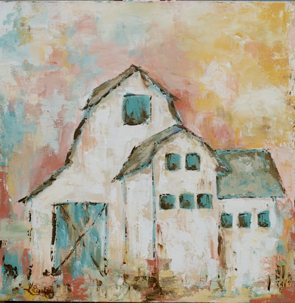 Morning's Glory Barn Artwork by Kelly Berkey