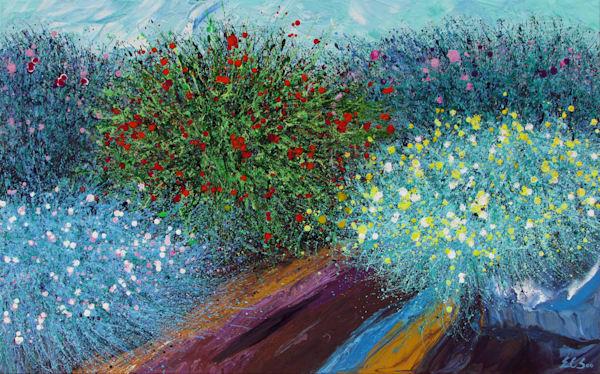 Desert Wildflowers #13 l Original Art for Sale