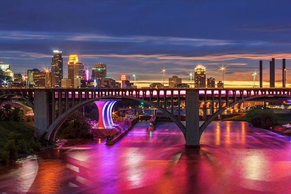 Pride Week Minneapolis - MPLS Skyline Photos | William Drew
