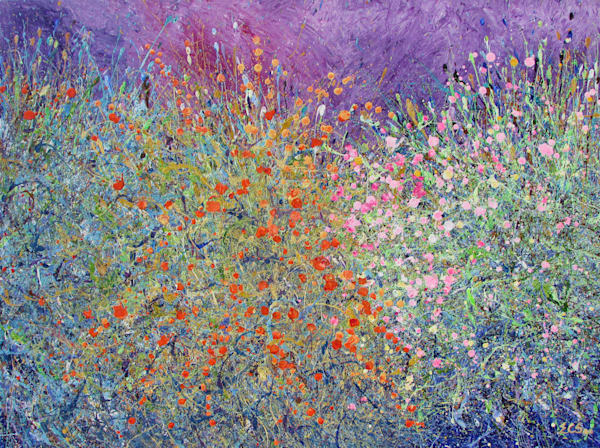 Beautiful Fine Art Print like the Original l Desert Wildflowers #27