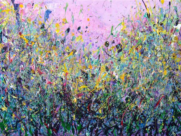 Blooming Wildflowers Art #3