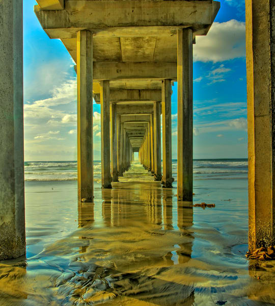 Scripts Pier Photography Art | John Martell Photography