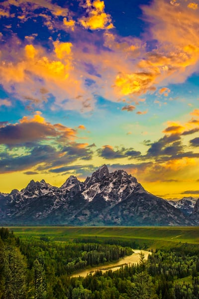 Snake River Copy Photography Art | John Martell Photography