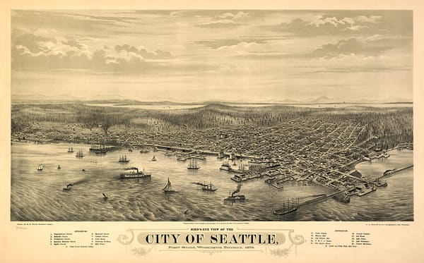 City of Seattle 1878