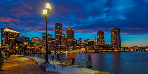 Boston Skyline 2 Photography Art | John Martell Photography