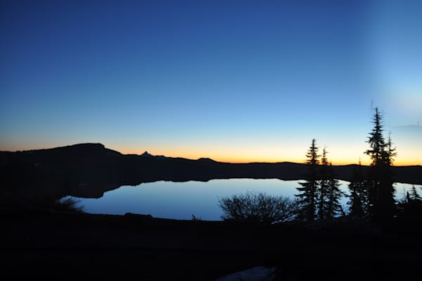 Crater Lake Photograph by Ryn Arnold