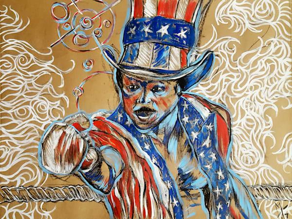 Apollo-Creed, boxing, rocky, usa, america