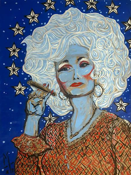 Dolly Parton, Fine Art Print, urban monkism