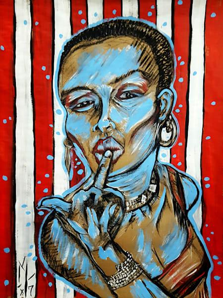 Grace Jones, portrait prints