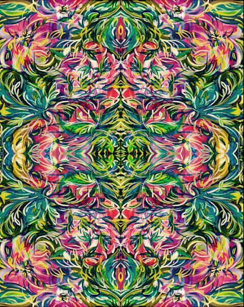 Summer Bloom  Digital Variation#1 Art | Janak Narayan Fine Art