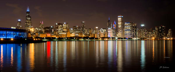Chicago City Lake Panoramic