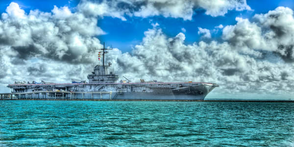 Uss Lexington Photography Art | John Martell Photography