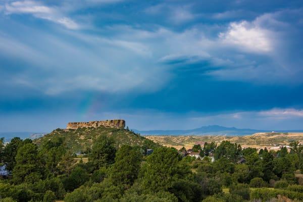 Photo of Rainbow Over The Rock in Castle Rock Colorado