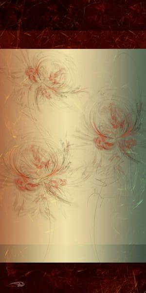 Orange Blossom Full digital art by Cheri Freund