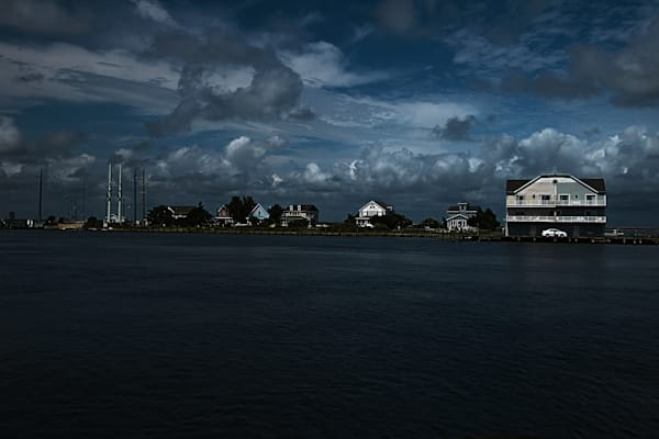 Fine Art Photograph of a Mansion in Chincoteague Island by Michael Pucciarelli