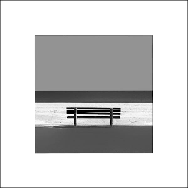 Sandbanks Beach Art -bench