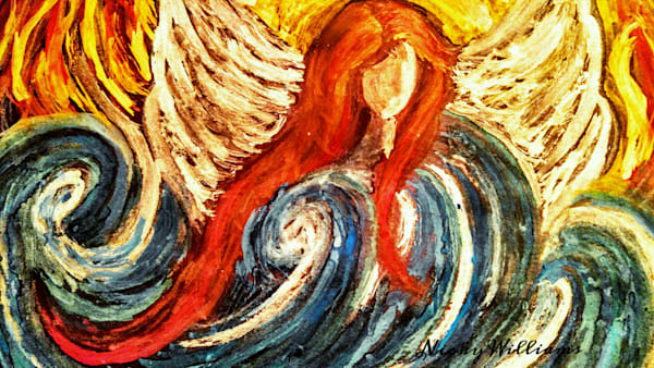 """Angel In Ocean Of God's Love"" by Nicky Williams 
