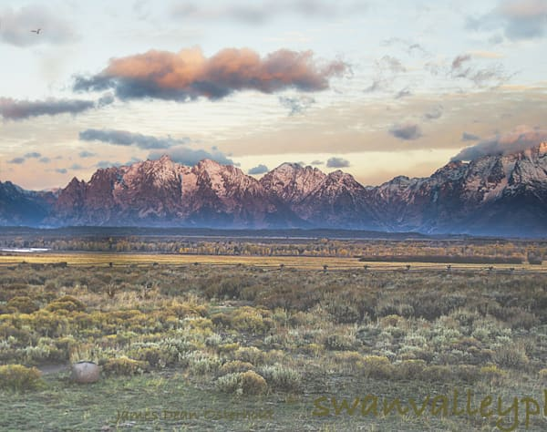Teton's Sunrise Photography Art | Swan Valley Photo