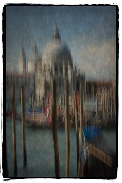 315 Landscape photographer Venice Italy Gondolas at Chiesa Della Madonna Della Salute