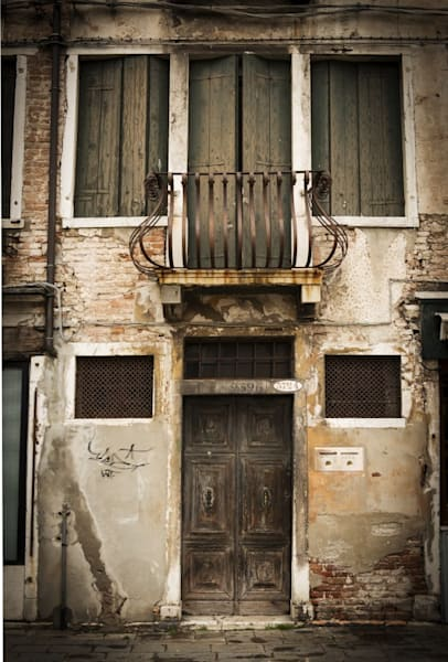 318 Landscape photographer Venice San Marco Old houses