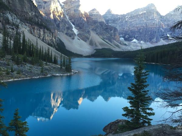 Canada, moraine lac
